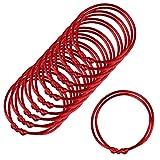 Paquete de 12 pulseras rojas, Pulseras de cordel rojo Lot-Kabbalah, cuerda roja hecha a mano, pulsera ajustable Cabalá, buena para la riqueza y el...